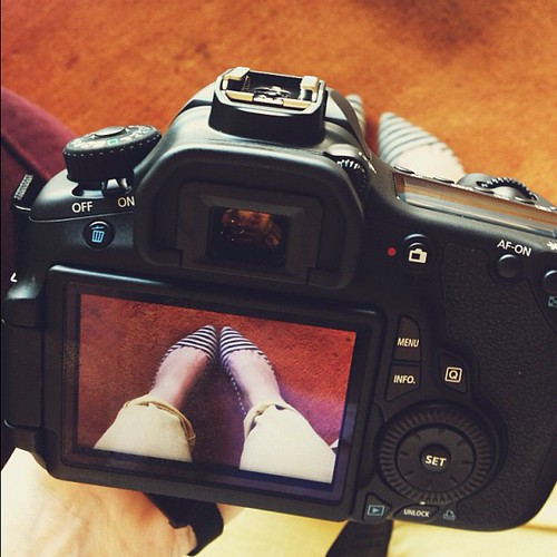 Playing with my new baby. #onefunthing #60D #canon