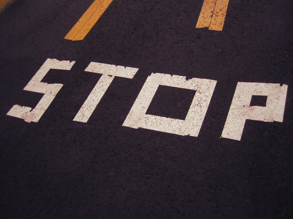 stop-sign-asphalt
