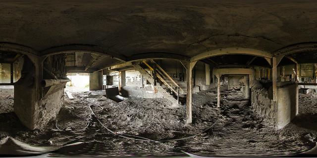 Abandoned Concrete Factory, Gary Indiana