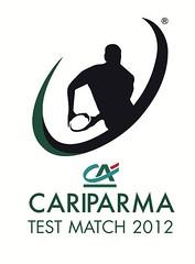 Cariparma Test Match 2012 logo