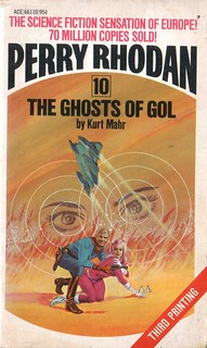 The Ghosts of Gol by Perry Rhodan. Ace 1974. Cover artist Gray Morrow