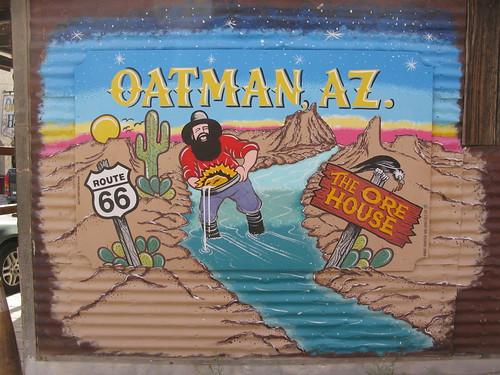 Oatman Arizona Mural