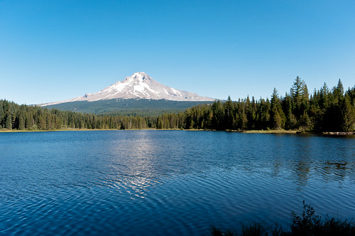 Trillium Lake & Mt. Hood View 1 of 3