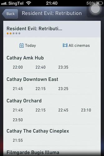 Checking Movie Timing
