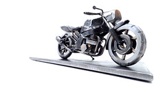 Honda VFR750F modified sculpture