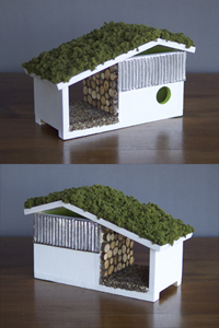 Jeffery Frankenhauser + Nicole Marsh Birdhouse