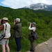 Naturetrek clients in the Sierra de Guara