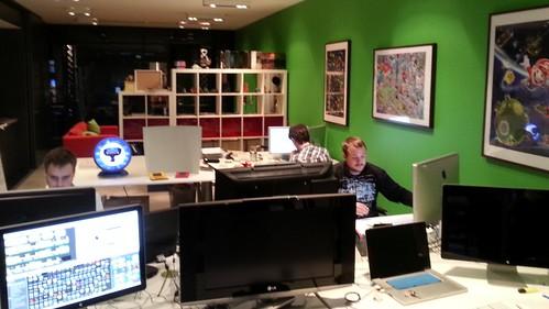 Inside Nnooo Studios!