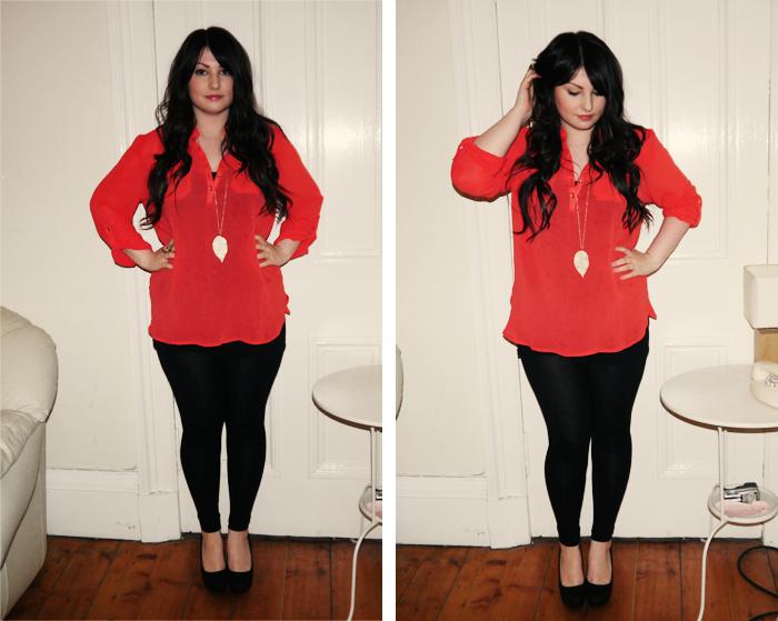 primark chiffon blouse 2