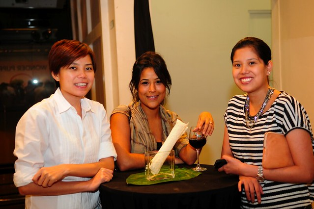 Kristine and Suyen Lim with Magis Marketing Meryem Chouirf