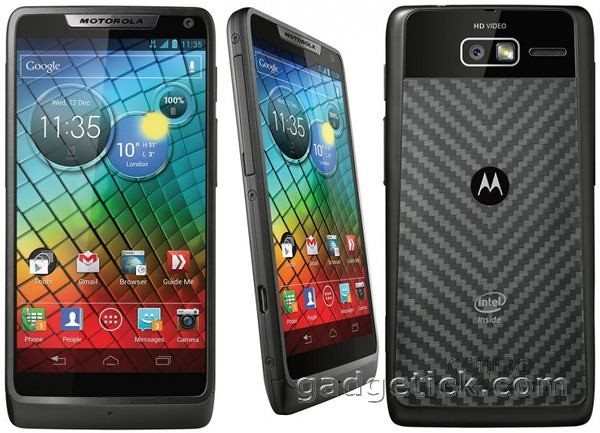 Характеристики Motorola RAZR i