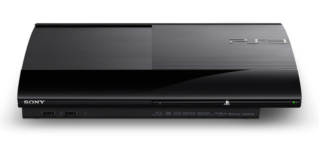 PlayStation 3 black