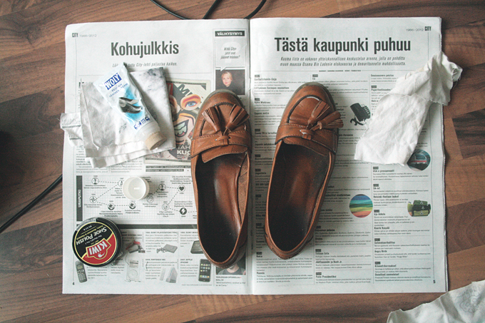 idkuva leather loafers