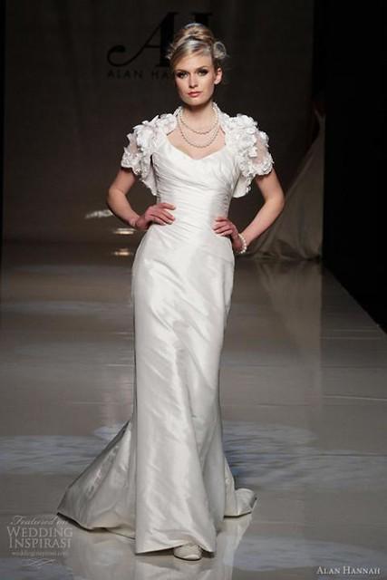 váy cưới thu 2012