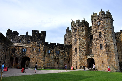 Classes at Alnwick Castle