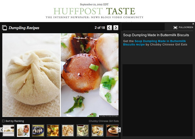 chubby's dumpling recipe on Huffingtonpost HUFFPOST TASTE