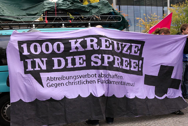 Berlin 22.09.2012 Abtreibung pro und contra  IMG_9918