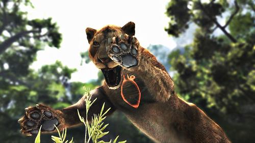 Cabelas DH 2013 Lioness Pouncing