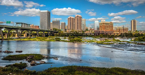 usa skyline river landscape photography james virginia us downtown cityscape richmond va richmondva richmondvirginia rva skynoir apostcardday