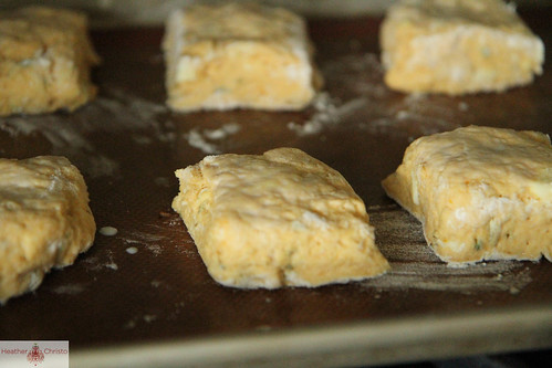 Pumpkin Sage Biscuits