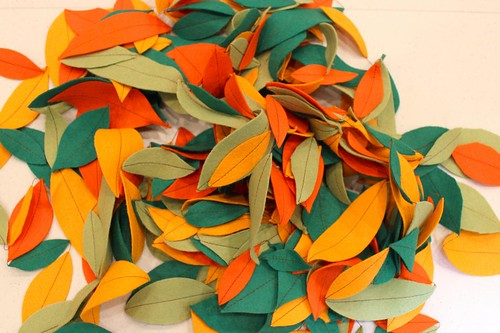 autumn leaves garland 6