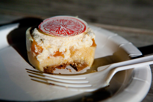 Pierre Hermé's dessert: Grapefruit cake