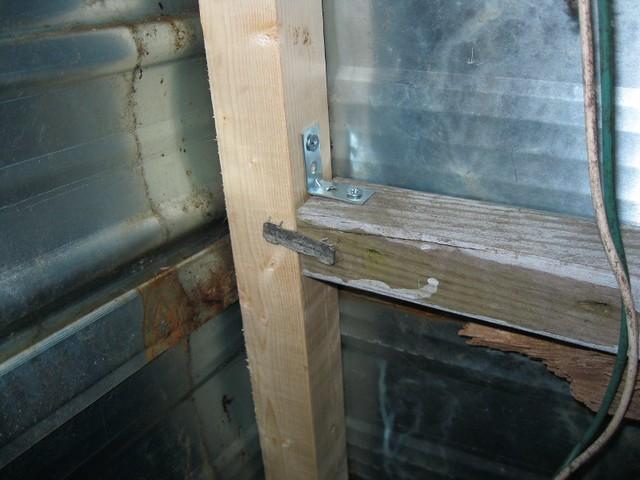 how to repair travel trailer walls