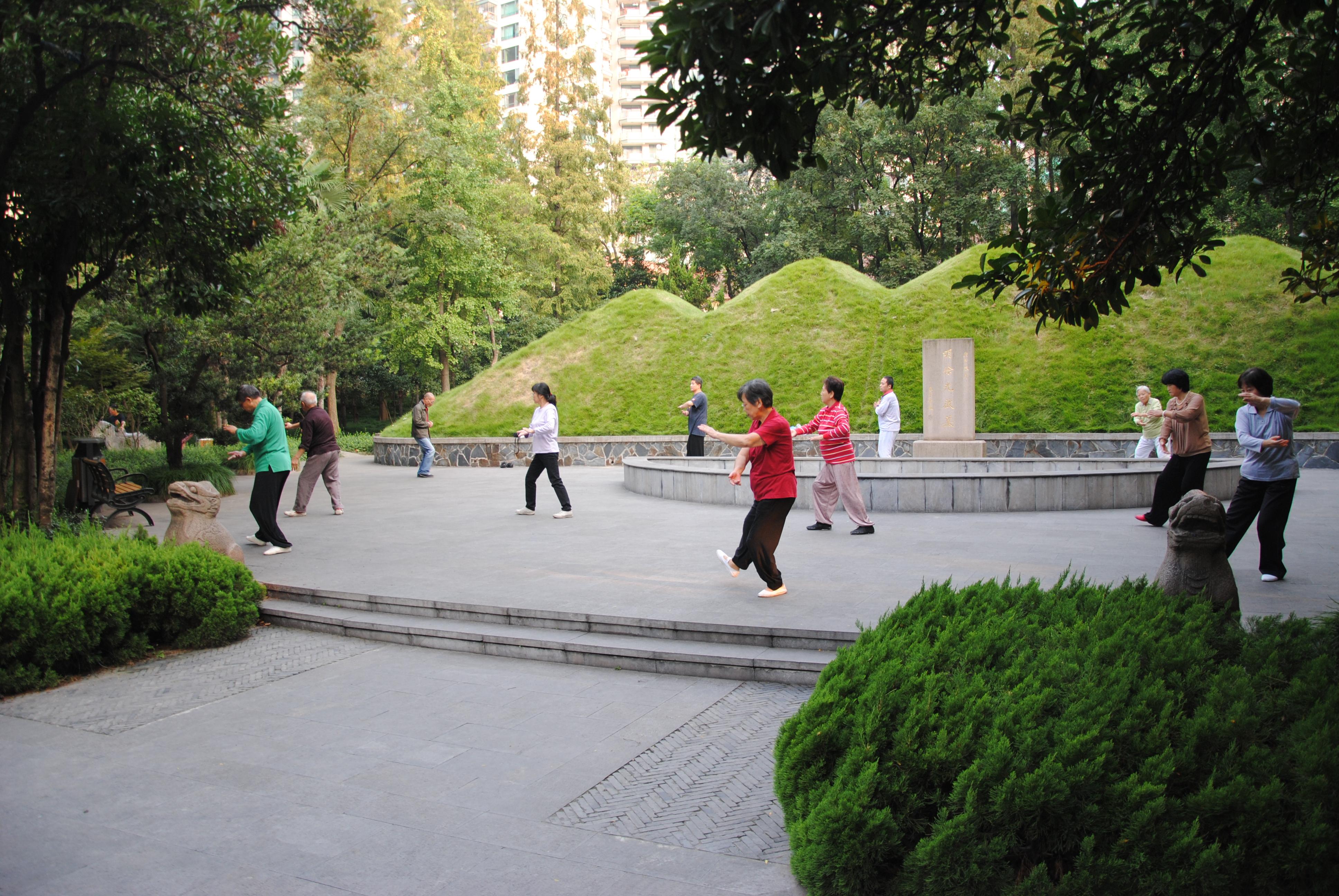 Shanghai, Tai Chi (4)