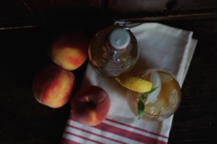 peach tea 2
