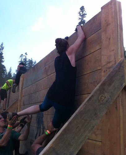 Wall Boost Tough Mudder