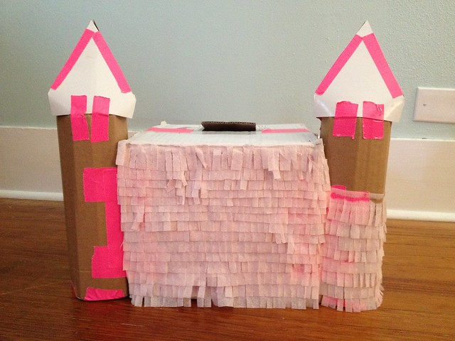 DIY Princess Castle Piñata