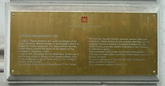 Photo of Brass plaque number 11595