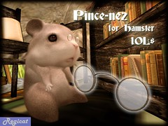 Pince-nez for Hamster