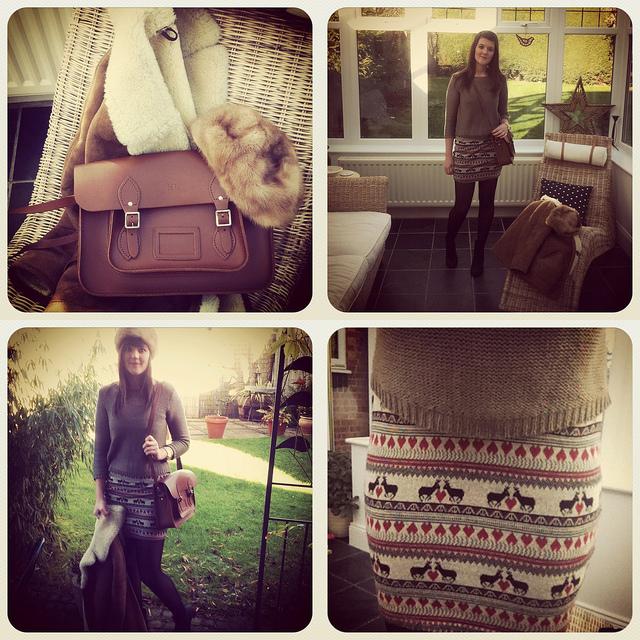 cambridge satchel outfit