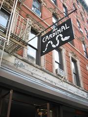 cardinal sign