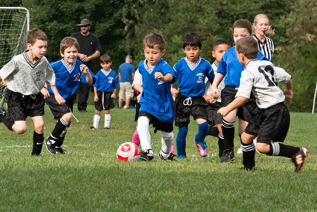 The Nikon V1 is perfect for soccer moms and dads