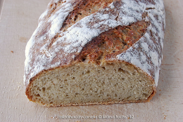 Oat and apple bread