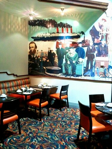 Crowne Plaza Glasgow Restaurant Buffet
