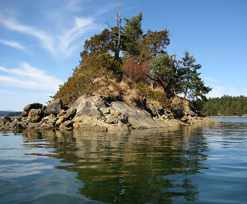 Off S Wallace Island, round Princess Bay