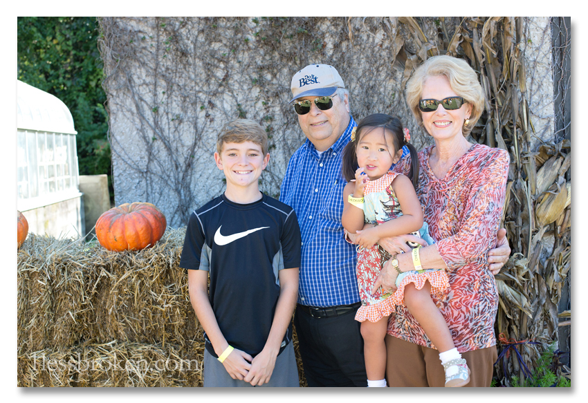 BLOG gaga and papaw with lily and spencer
