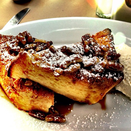 Some of the best French toast I've ever had. #brunch