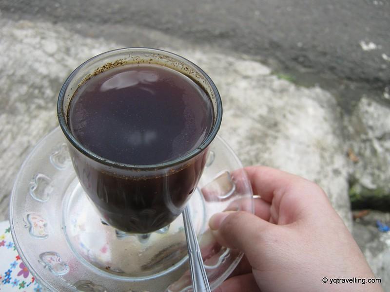Overcharged kopi
