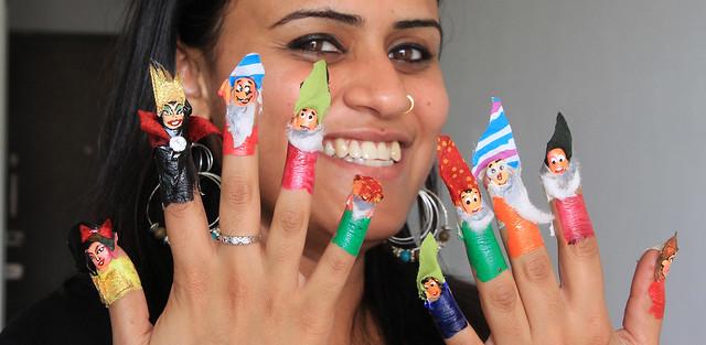 Seema's nails