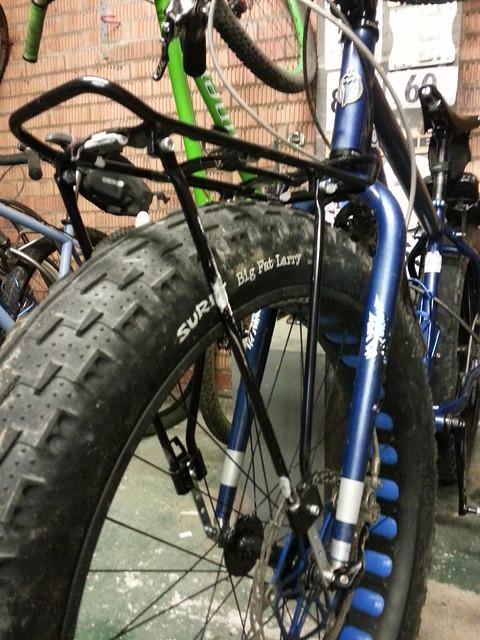 New Fat Bike Front Rack For Under A Uk Tenner Mtbr Com