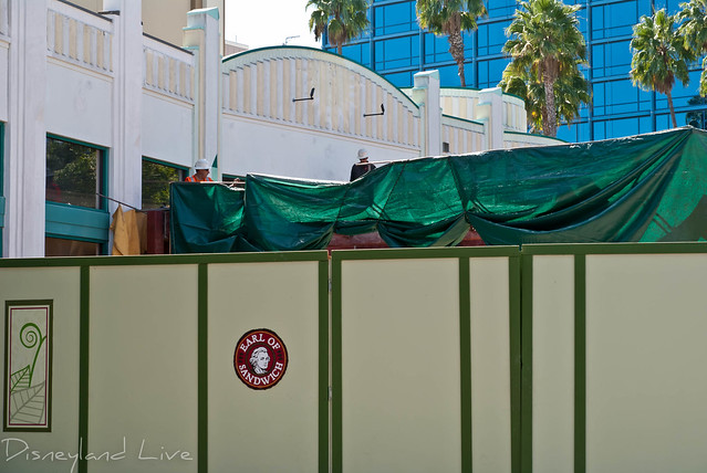 Earl of Sandwich Construction - Downtown Disney