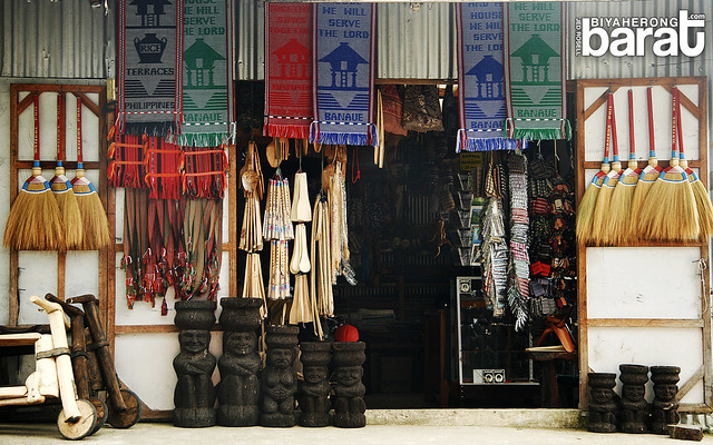 souvenir shop in banaue