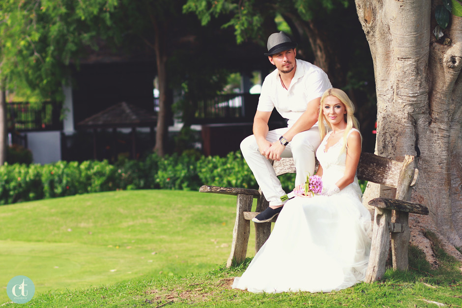 Russian Couple, Post-Wedding Shangrila Mactan