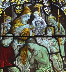 St Gregory baptises St Augustine