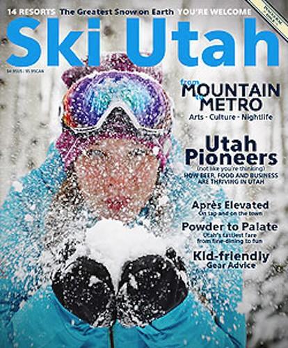 Ski Utah Magazine cover