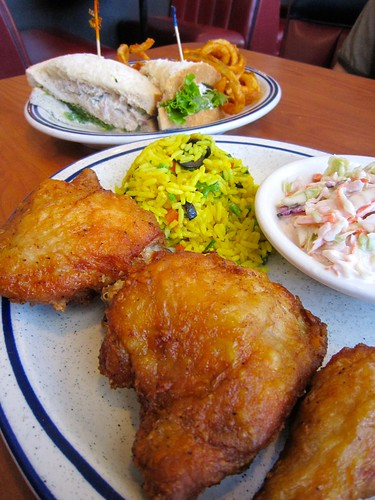 Dinah's Fried Chicken Meal
